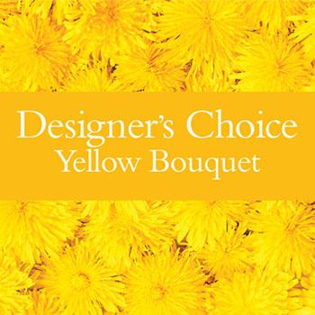 DC Yellow Bouquet - deluxe