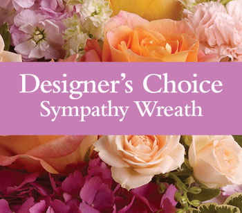 - Can't decide on what to send? The Designer's Choice Sympathy Wreath is a one-of-a-kind collection of the designer's freshest f