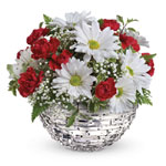 Make her day! Send your special someone this charming arrangement in a Sparkle keepsake vase. It's a gift that will surely delig