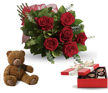 They will fall in love with you all over again with a box of chocolates and a teddy.