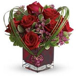 Send this beautiful floral arrangement to someone you love, and they'll think sweet thoughts about you!