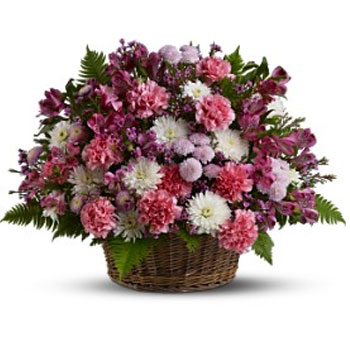 Garden Basket Blooms - Pawleys Is