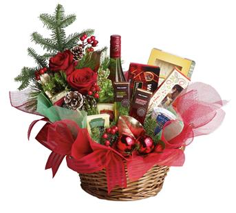 - Even if your list seems like it's endless this year, sending a Christmas gift has never been so easy. This basket is fresh, fe