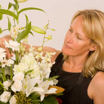 A florist choice is not the same as the picture , the flowers & colours will vary in this arrangement.