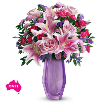 Wow her with lavender - this breathtaking arrangement will make her feel like the extra special person she is