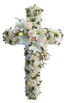 Your message of hope for eternal serenity is delivered so elegantly in this graceful cross.