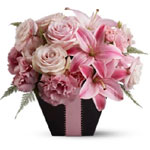 A beautiful birthday gift, or a stunning centerpiece for a pink-themed party.