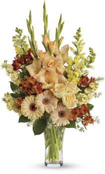 Express your condolences in tasteful shades of colour